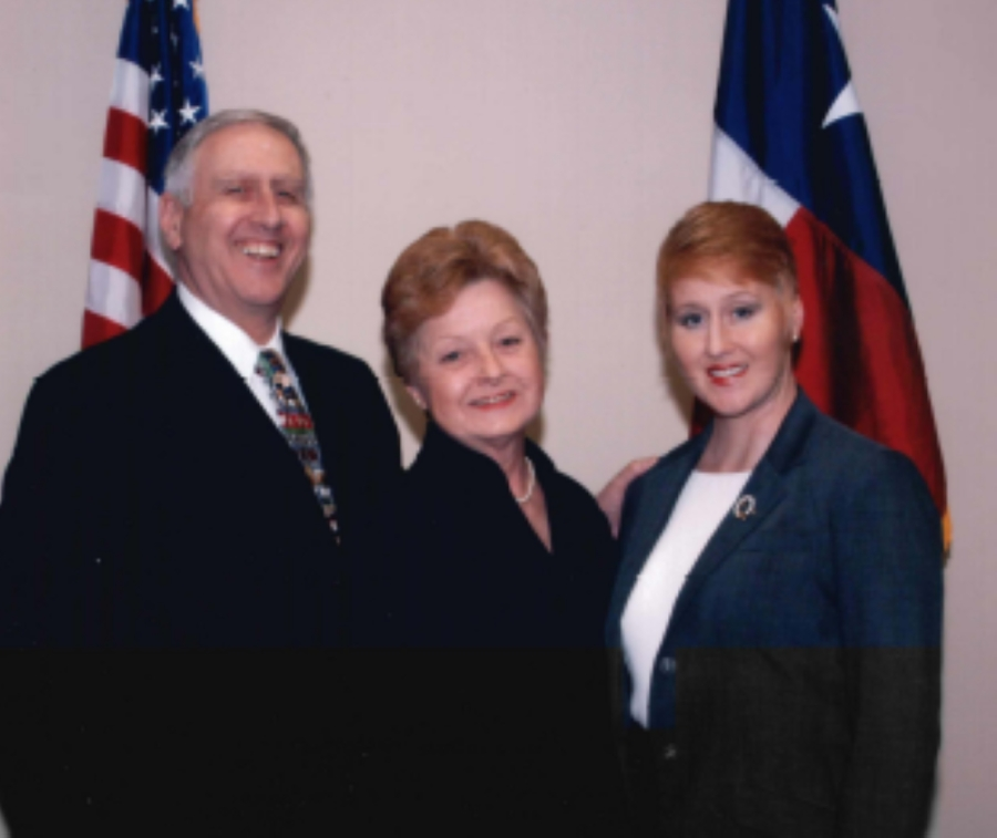 Senior partner Michell Bradie (right) said she is a third-generation attorney who started the firm with her parents, Anna Bradie (center) and the late Peter Bradie (left). (Courtesy Michell Bradie)
