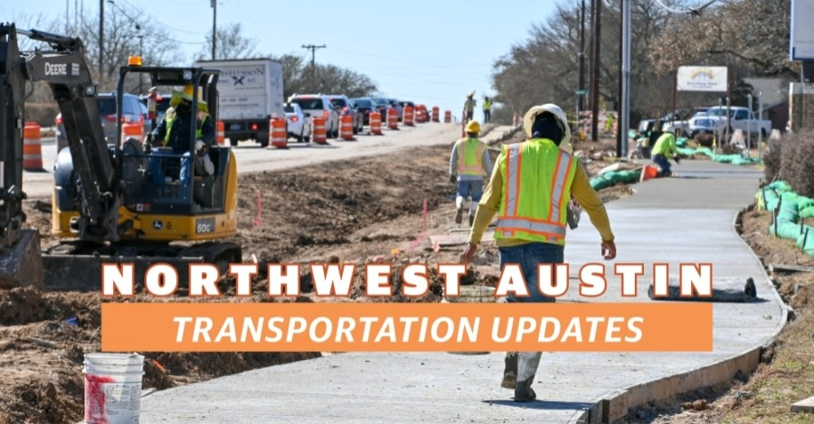 Anderson Mill Road construction