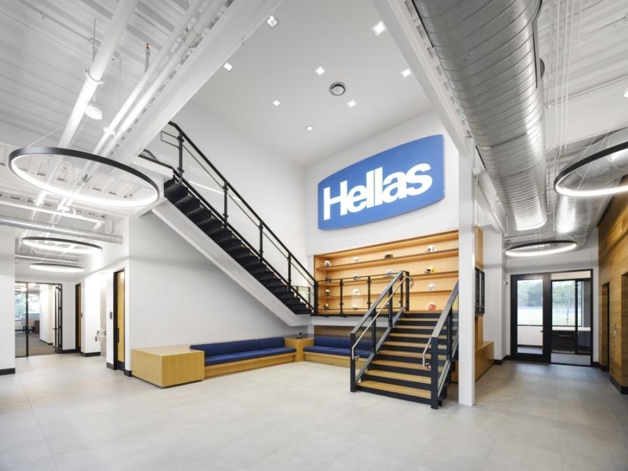Hellas headquarters interior