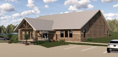 The Yellow House Foundation plans to relocate to Leander in late 2021. (Rendering courtesy Yellow House Foundation)