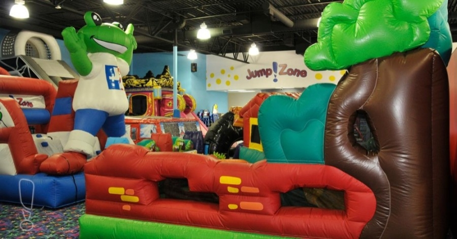 Jump Zone in Lewisville remains open. (Courtesy Jump Zone)