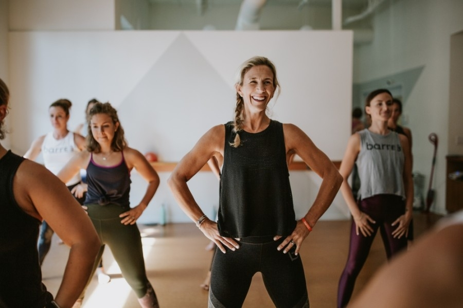 Barre3 Austin Four Points celebrated its five years of business in March. (Courtesy Barre3 Austin Four Points)