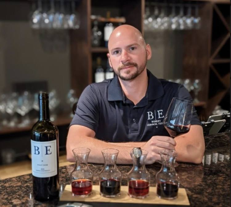 Blue Epiphany Winery opened April 5. (Courtesy Blue Epiphany Winery)