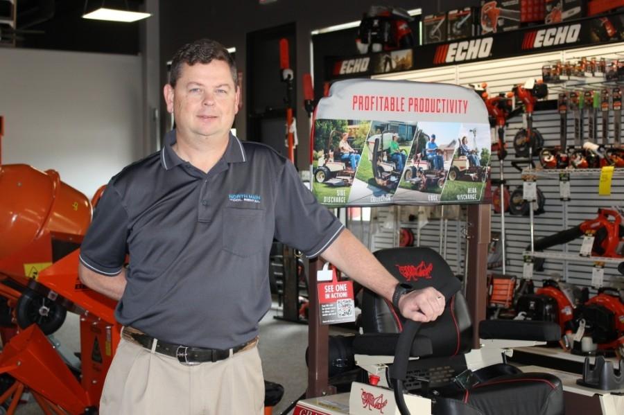 Gary Jones opened North Main Tool Rental at 11210 FM 1488, Magnolia, in March 2019. (Adriana Rezal/Community Impact Newspaper)