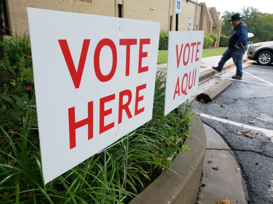 Polls were open from 7 a.m. to 7 p.m. May 1. (Ali Linan/Community Impact Newspaper)