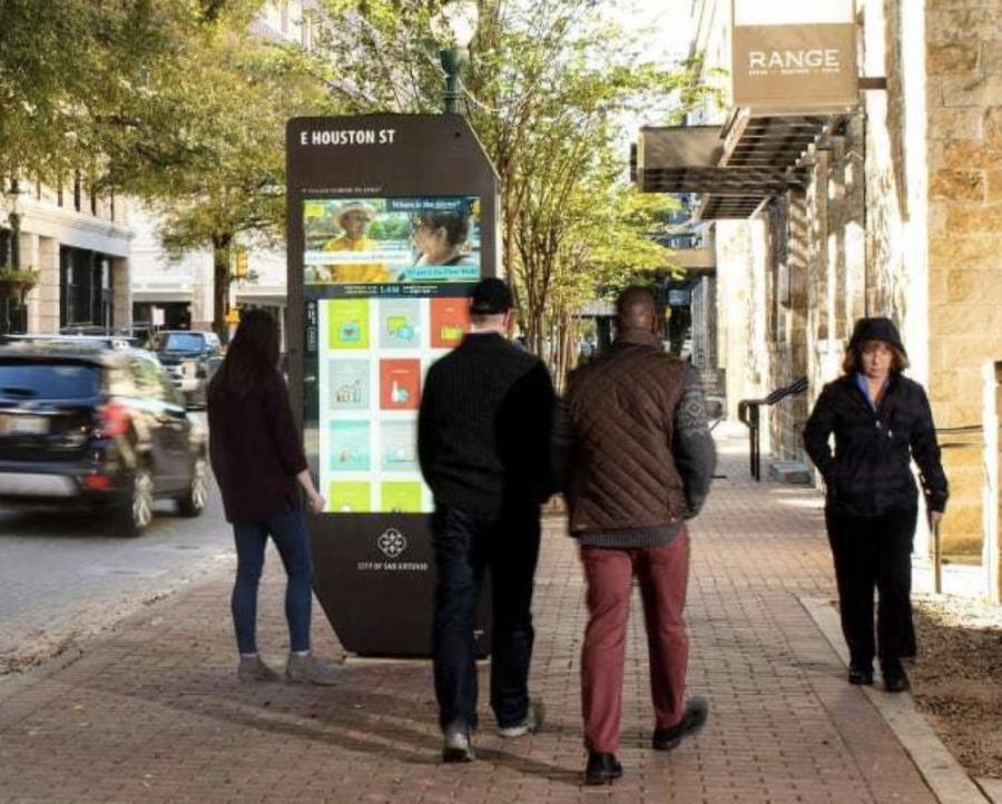 kiosk downtown