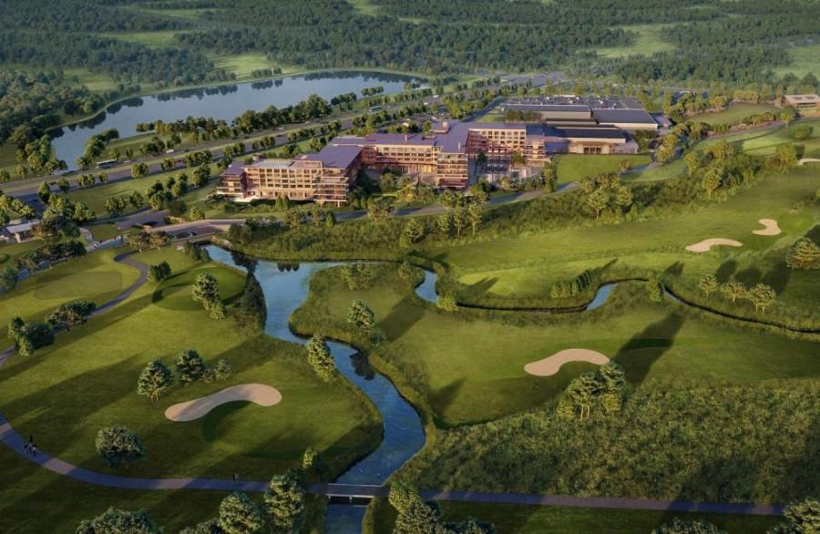 The Omni PGA Frisco Resort will open in spring 2023. (Rendering courtesy Omni Hotels & Resorts)