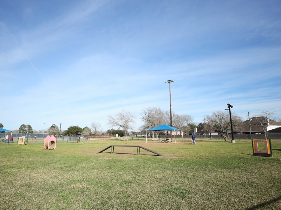 The Independence Park dog park in Pearland is under reconstruction. (Courtesy city of Pearland)
