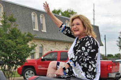 Shirley Roberts from Grapevine's GRACE clinic was selected from over 700 nominations as one of DFW's Great 100 Nurses. (Sandra Sadek/Community Impact Newspaper)