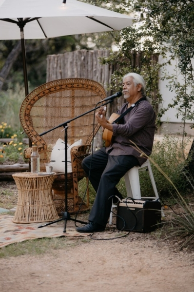 The Wayback offers outdoor live music. (Courtesy Heather Thompson Photography)