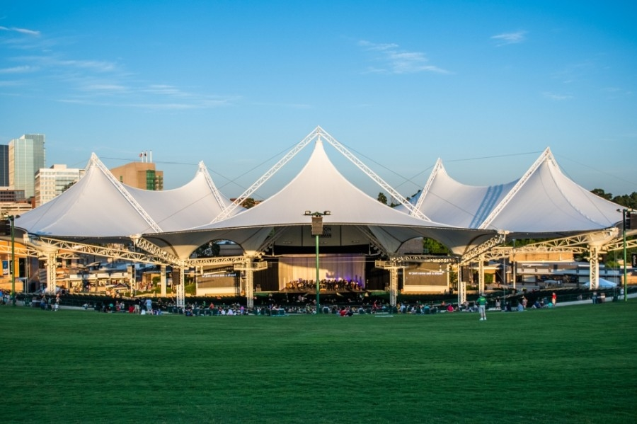 The Cynthia Woods Mitchell Pavilion plans to reopen for shows beginning this summer. (Courtesy Cynthia Woods Mitchell Pavilion)