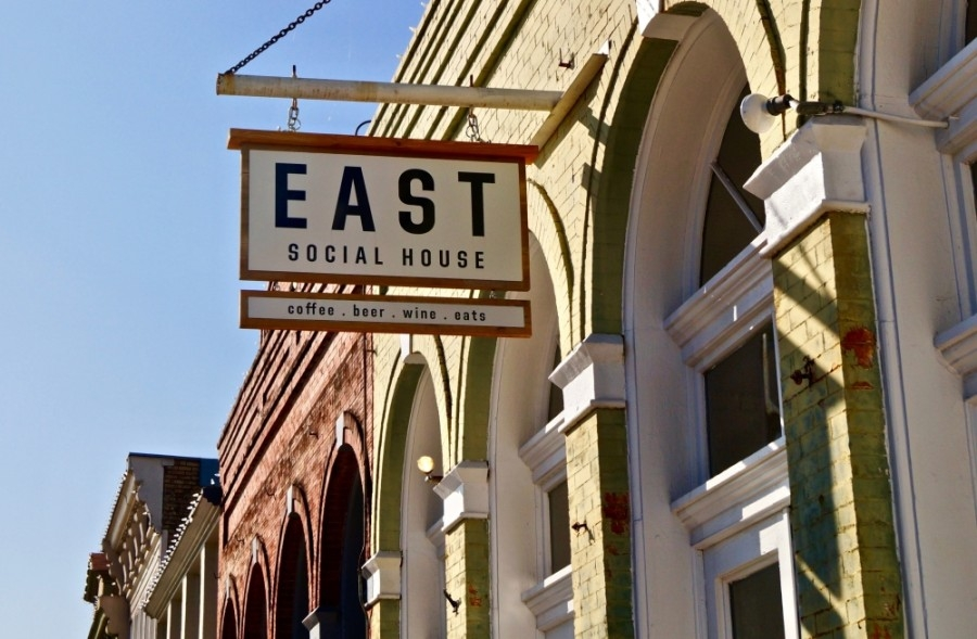 East Social House is now Lamppost Coffee as of May 1. (Kelsey Thompson/Community Impact Newspaper)