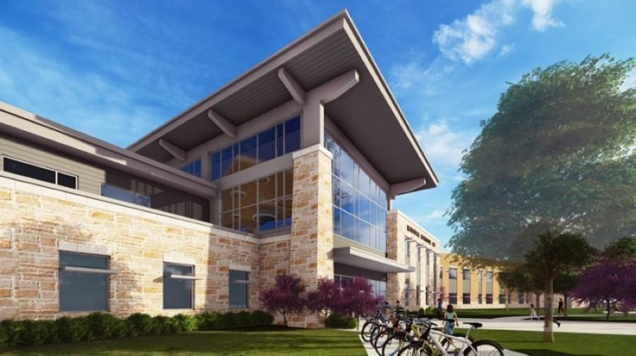 Bohls Middle School rendering