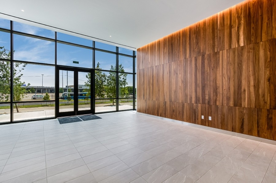 The Highland Tech Center is an office complex that finished redevelopment in March. (Courtesy Aquila Commercial)