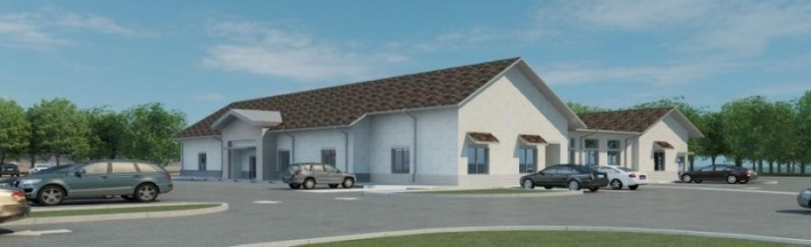 A rendering of the new facility for Christian Helping Hands and SEVA Clinic, located at 4305 Magnolia Parkway, Pearland (Courtesy Christian Helping Hands)