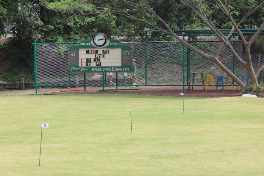 Photo of a putting green