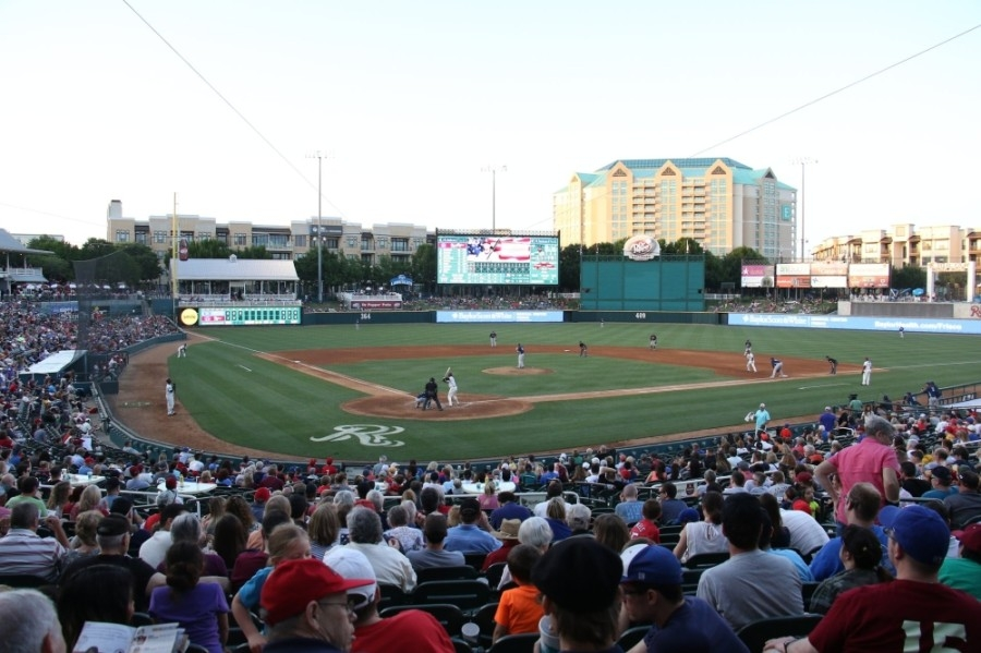 The Frisco RoughRiders will take on the Tulsa Drillers in their 2020 season home opener on April 16 at Dr Pepper Ballpark. (Courtesy Visit Frisco)