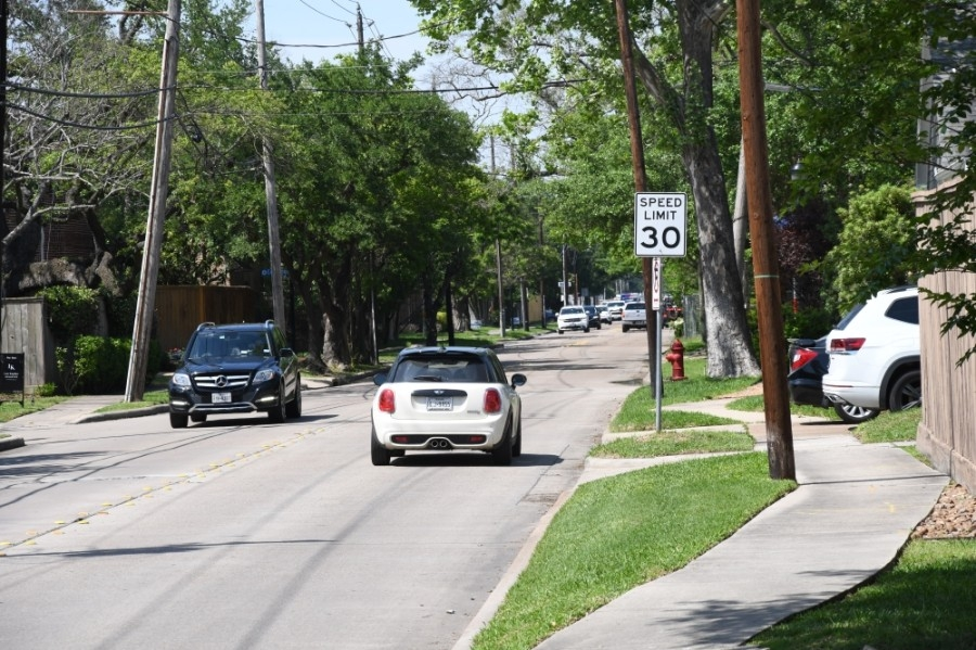 West University Place City Council has officially approved an ordinance that lowers the citywide speed limit. (Hunter Marrow/Community Impact Newspaper)