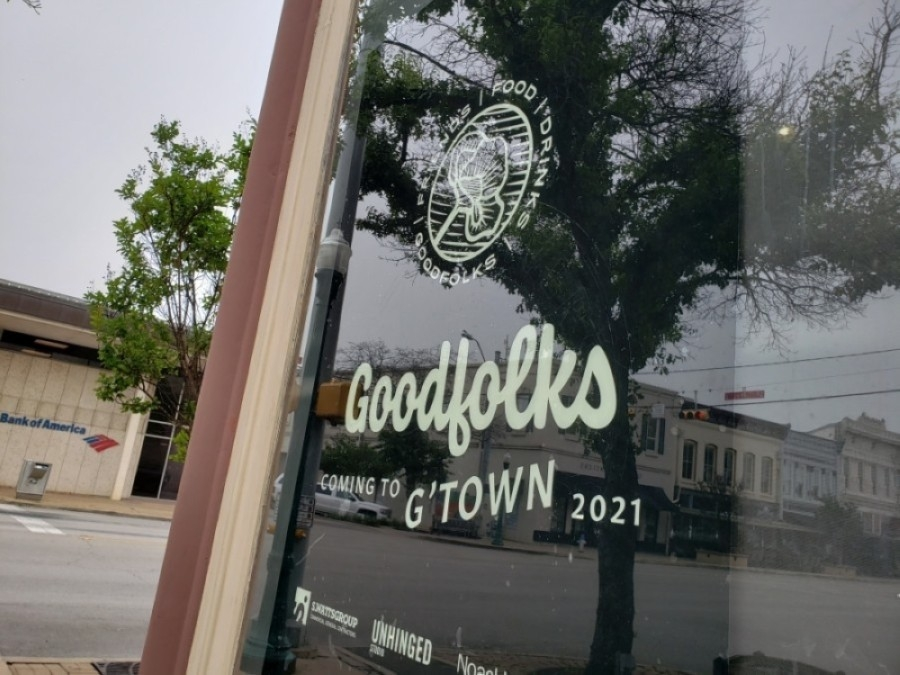 Goodfolks plans to open in late July to early August. (Ali Linan/Community Impact Newspaper)