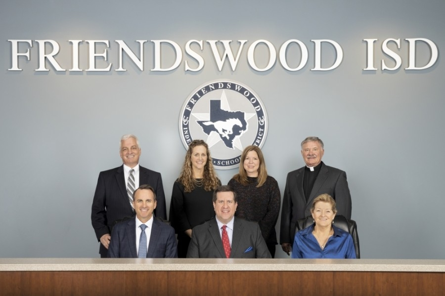 Friendswood ISD's board of trustees voted unanimously May 10 to provide only in-person instruction to students during the 2021-22 school year, as well as to eliminate any mandate for face coverings starting June 1. (Courtesy of Friendswood ISD)