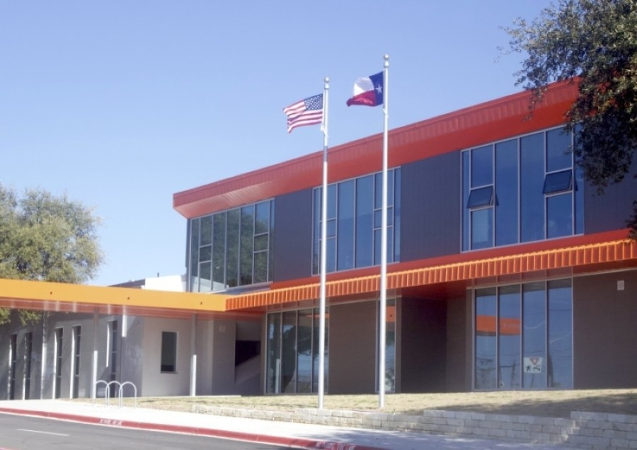 Students at Norman-Sims Elementary School and Austin ISD's 124 other schools across the district will now be allowed to remove masks during outdoor physical activities with the permission of a parent or guardian. (Jack Flagler/Community Impact Newspaper)