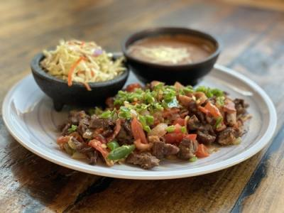 The Beef Mexicana dish sells for $15.95 (Courtesy Petra)