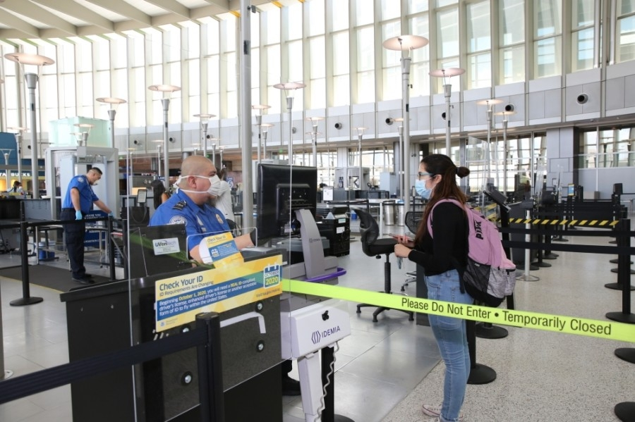 COVID-19 precautions such as a masking requirement remain in place at Austin-Bergstrom International Airport. (Courtesy Austin-Bergstrom International Airport)