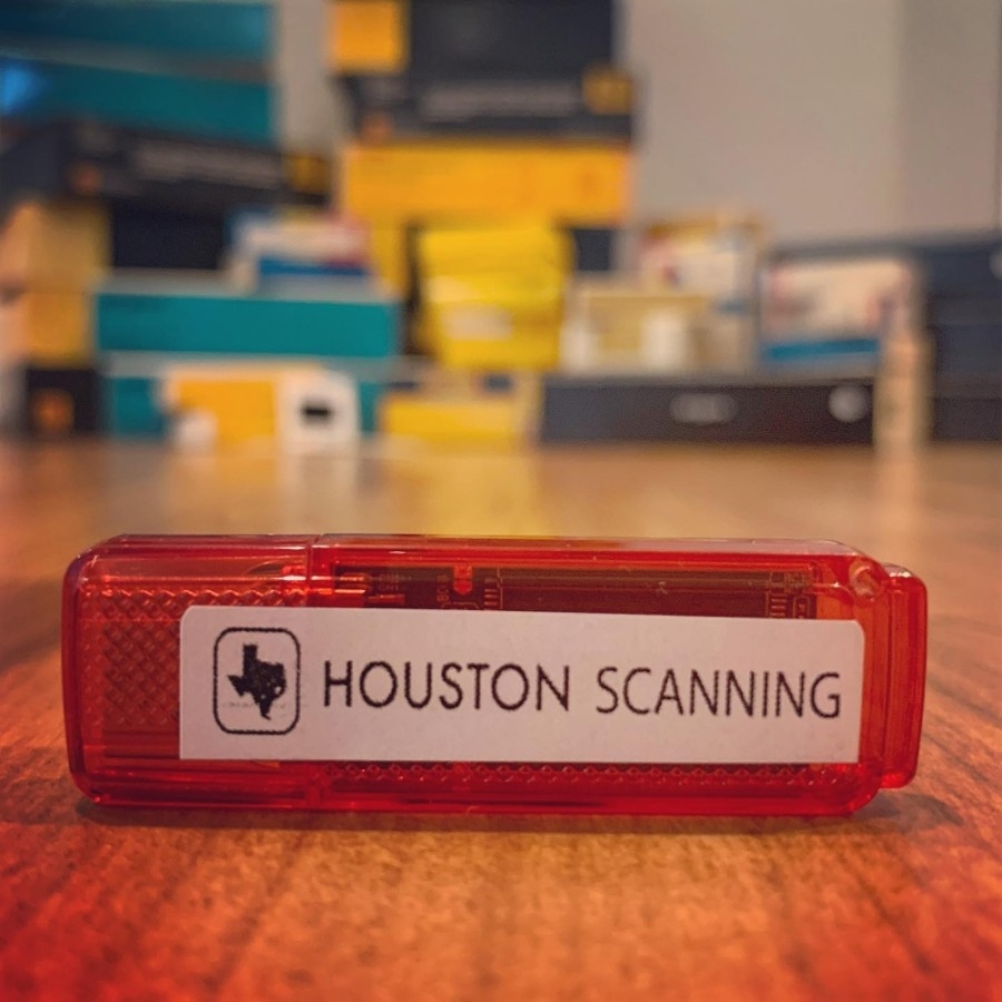 Houston Scanning digitizes video tapes, printed photographs, film reels and more. (Courtesy Houston Scanning)