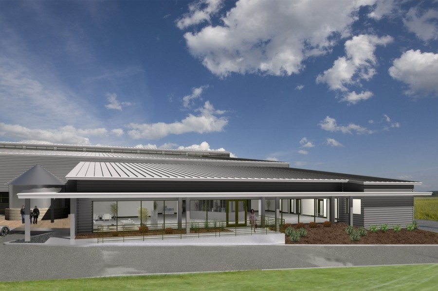 Exaco will build a new headquarters at One Thirty Business Park along SH 130 in Pflugerville. (Rendering provided by Exaco)