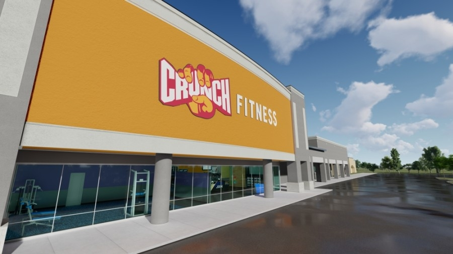 Crunch Fitness is replacing 24 Hour Fitness, which closed its Atascocita location along with at least 11 other facilities in the Greater Houston area last June. (Rendering courtesy Crunch Fitness)
