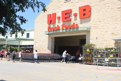 Photo of an H-E-B store