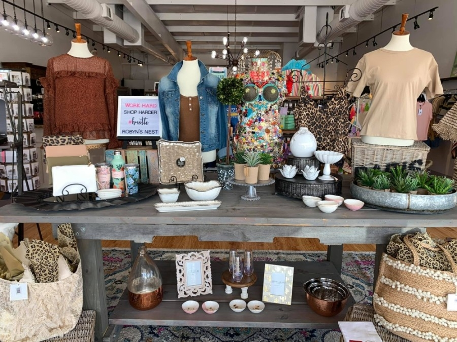 The business first opened in 2013 and offers women's clothing, shoes, accessories and gift items. (Courtesy Robyn's Nest Boutique)