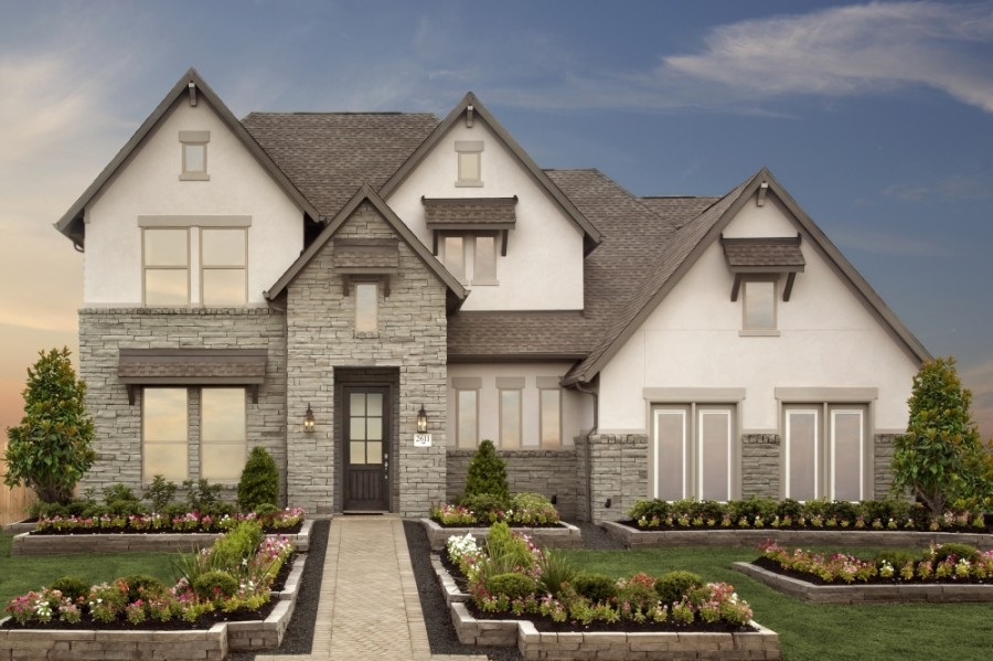 Coventry Homes will be one homebuilder in The Highlands, a the new master-planned community coming to the Porter area. (Rendering courtesy Coventry Homes)