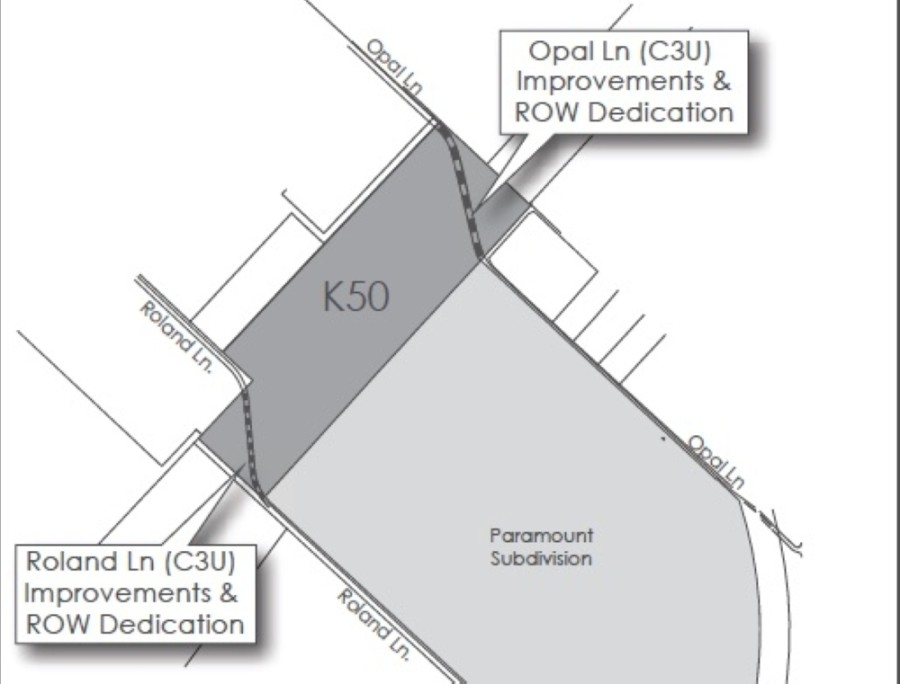 A 50-acre development in Kyle known as Ky-Tex 50 could soon be under new ownership. (Courtesy city of Kyle)