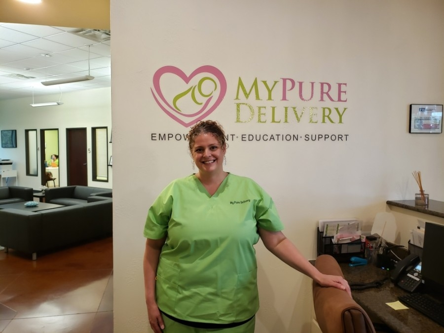 Owner Diba Tillery opened a brick-and-mortar location of My Pure Delivery in 2016. (Ali Linan/Community Impact Newspaper0