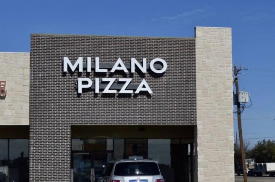 Milano Pizza opened May 18 in Cedar Park. (Taylor Girtman/Community Impact Newspaper)