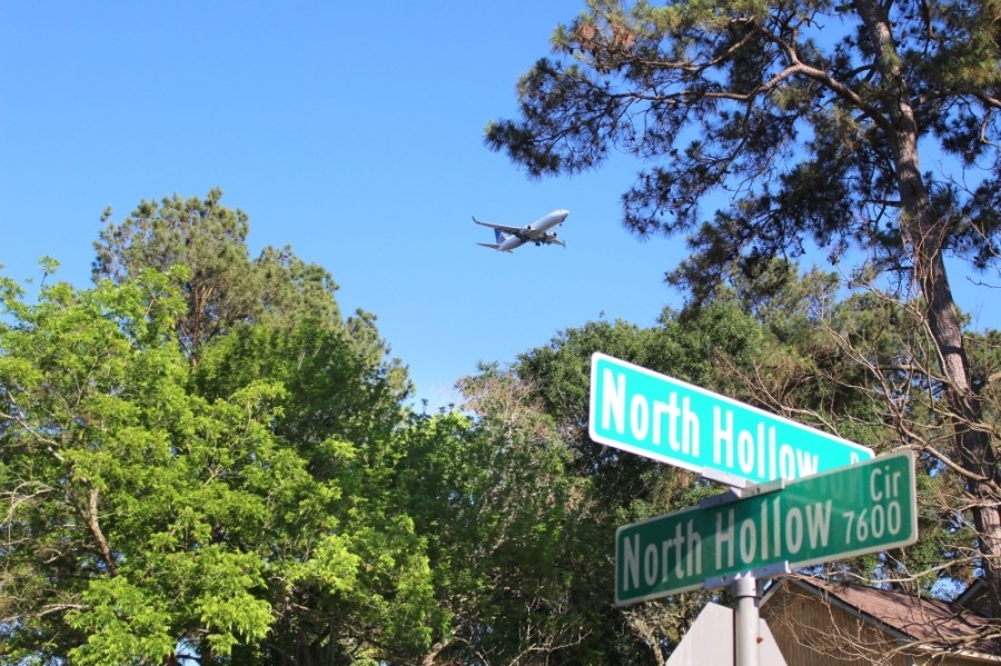 The Residential Noise Mitigation Program in the North Hollow neighborhood, located south of Will Clayton Parkway, will come to an end in August. (Kelly Schafler/Community Impact Newspaper)