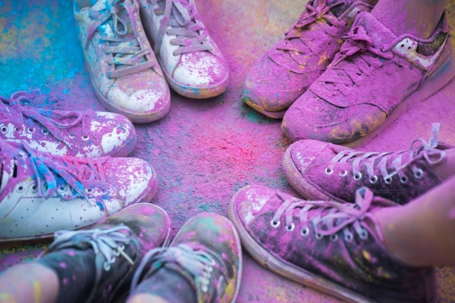 San Jacinto College hosts its inaugural Welcome to the Block 5K Color Run on June 6. (Courtesy San Jacinto College)