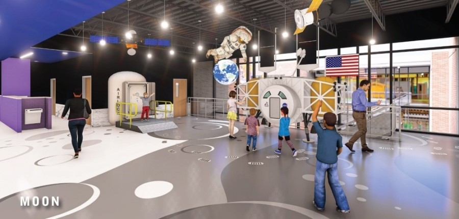 North Belt Elementary will be one of the first rebuilt elementary schools with the play-based learning design, which educators said they believe will lead to higher student engagement. (Courtesy Humble ISD)