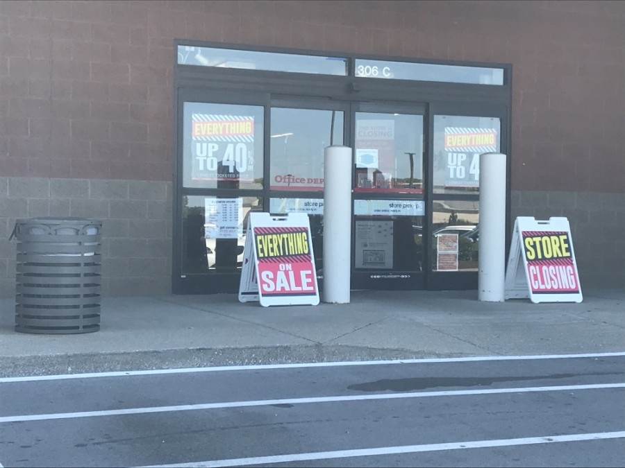 Office Depot will close its location in Brentwood. (Wendy Sturges/Community Impact Newspaper)