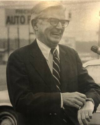 Roy Hohl Jr. advocated for today's Lone Star College-Tomball campus. (Courtesy Stephen Hohl)