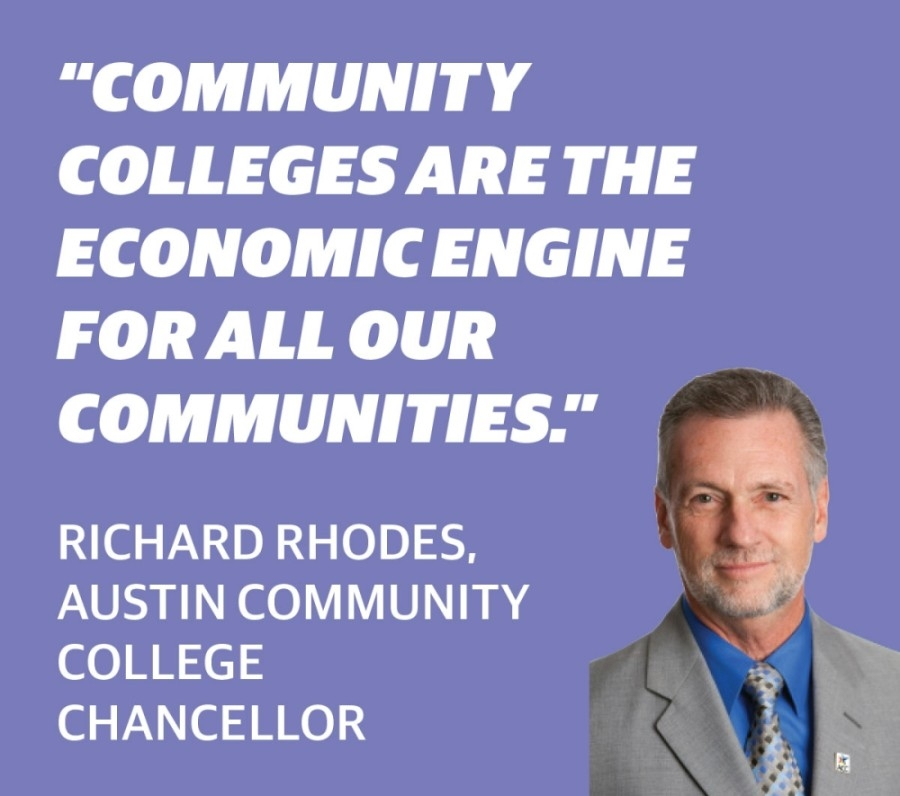 Dr. Richard Rhodes responded to the federal government's plan to invest in higher education, which U.S. President Joe Biden laid out in late April.