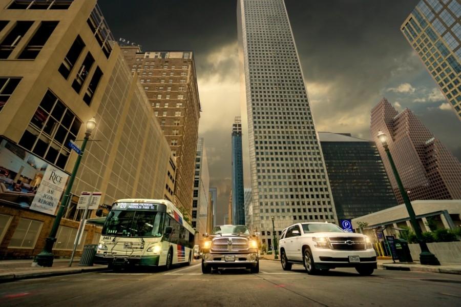 Downtown Houston Streetscape