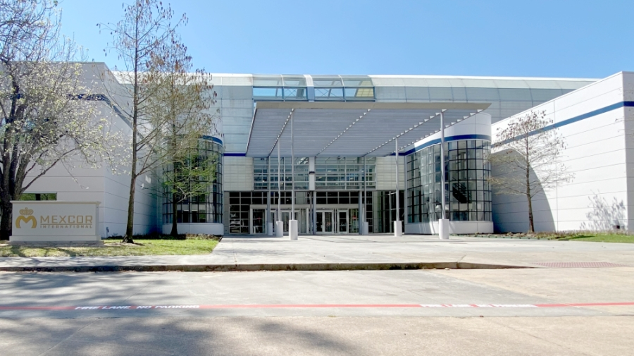 Mexcor International's newly relocated corporate headquarters facility is at 11177 Compaq Center W. Drive, Houston. (Courtesy of Mexcor International)