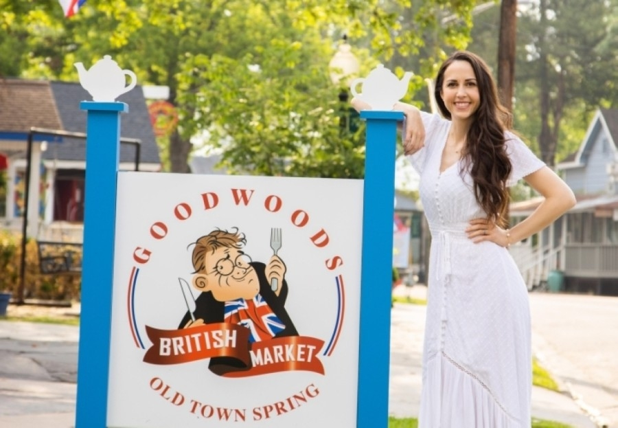 Alix Attaway took ownership of Goodwoods British Market on May 15 following the retirement of her father, Richard Goodlad, who owned the business for the past 31 years. (Courtesy Goodwoods British Market)
