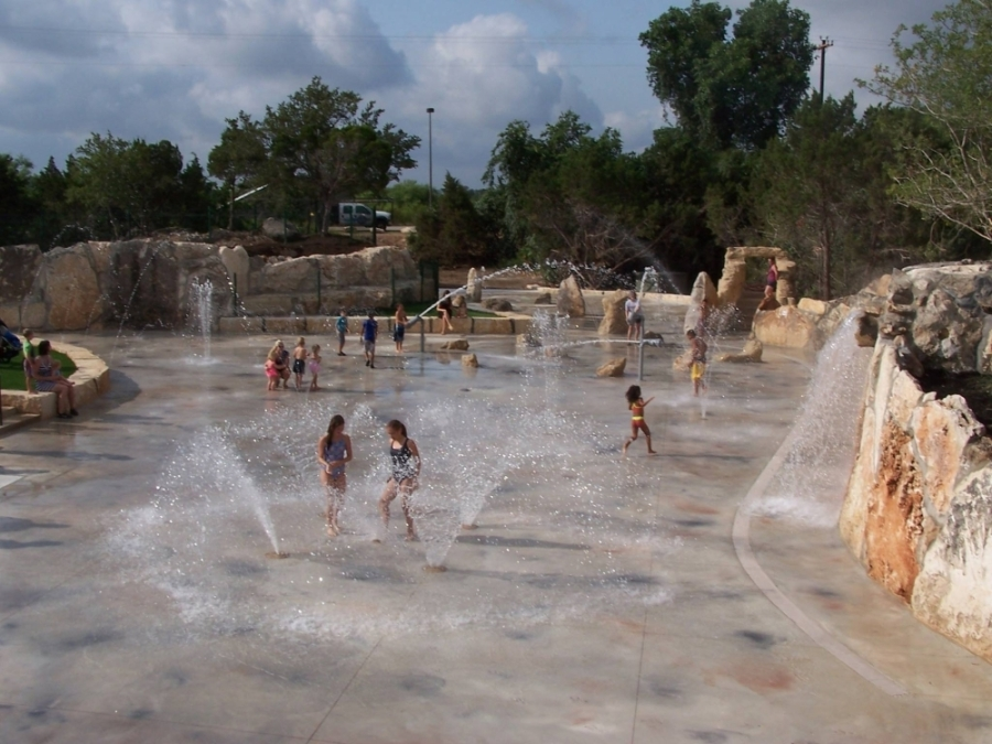 The Quarry Splash Pad will open May 29. (Courtesy Williamson County)