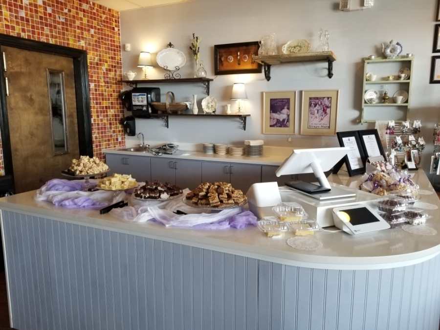 The tea room, cafe and gift shop offers a selection of hot and iced teas as well as homemade desserts, sandwiches, soups, salads and quiche. (Courtesy Sweet Inspirations)