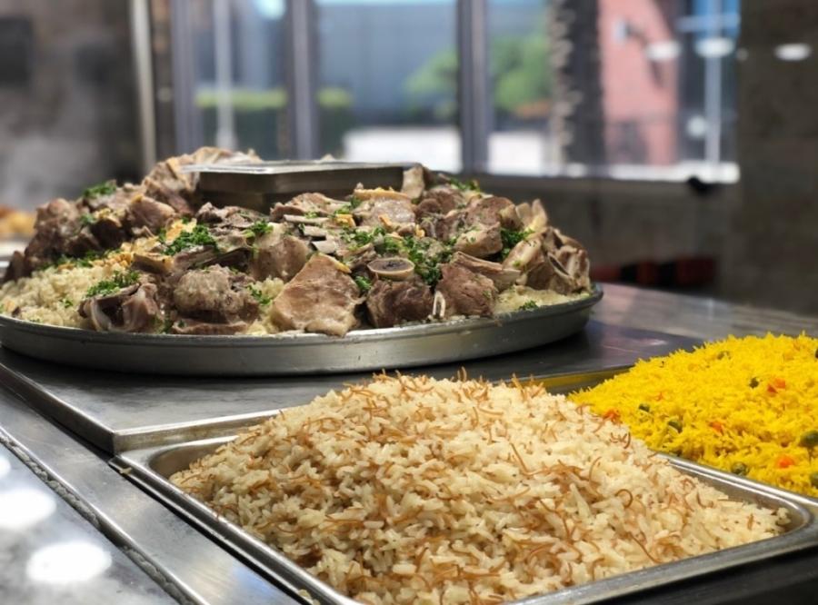 Mediterranean dishes offered by Dimassi's Mediterranean Buffet