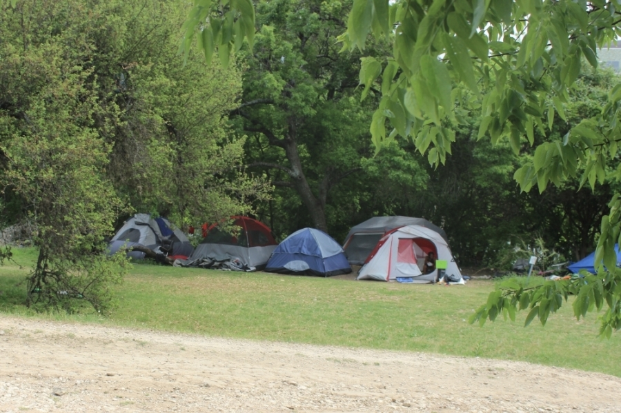 Staff will continue planning for the campground strategy through June and July, and the first site could open in August. (Ben Thompson/Community Impact Newspaper)