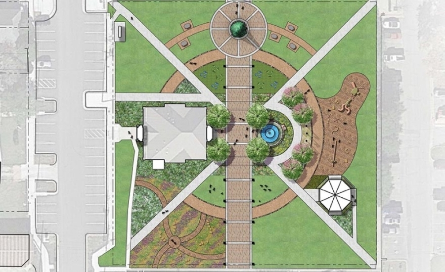 Mary Kyle Hartson City Square Park is looking at nearly $2 million in improvements. (Courtesy city of Kyle)